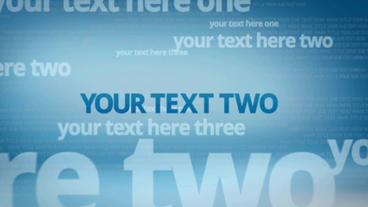 Text After Effects Template