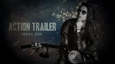 Action Trailer 4K After Effects Template