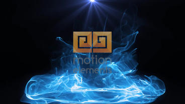 Neon And Particle Logo 2