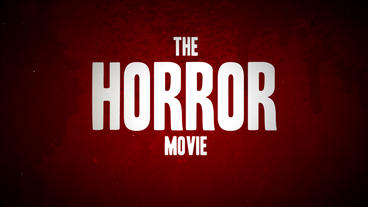 Horror Movie Trailer Package After Effects Template