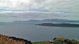 Ben Lorna view timelapse - Oban - Scotland Archivo