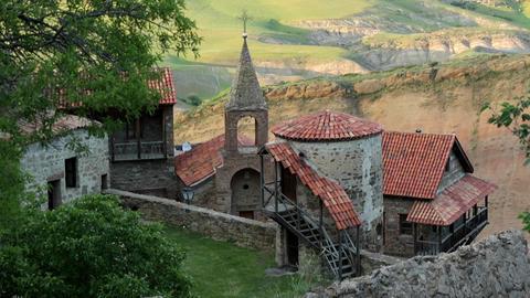 David Gareja Monastery Complex, Georgia Footage