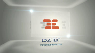 Corporat Glitch Cube Logo After Effects Template
