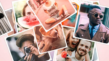 Photo Slide Show After Effects Template
