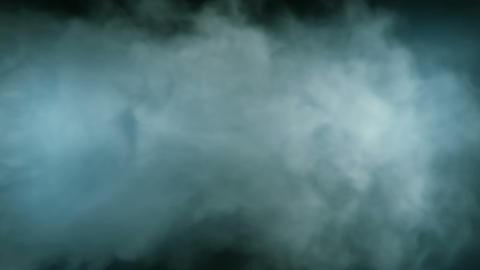 Smoke Background Loop 2 - BlueGreen 01 Animation