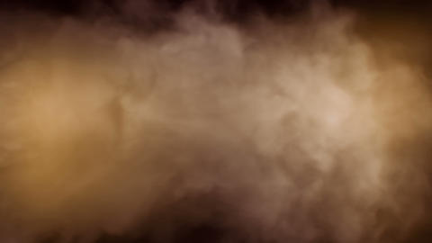 Smoke Background Loop 2 - Warm Color 2 Animation