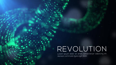 Particle Infinity Titles After Effects Template