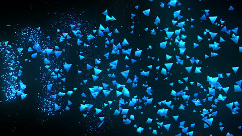 Global business network, Blue Pyramids CG動画