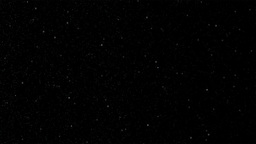 Stars on black background Animation