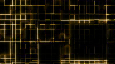 Animated Golden Lines Animation