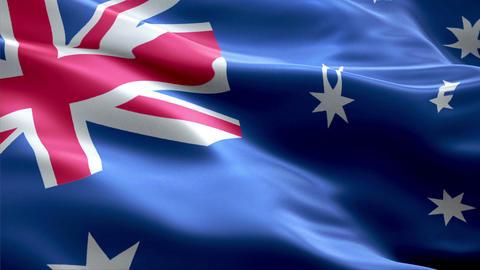 Flag Australia Animation