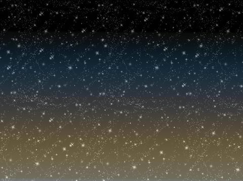 Starry sky, stars, night, space, astronomy, gradient background Fotografía