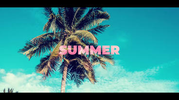 Dynamic Summer Opener After Effects Template