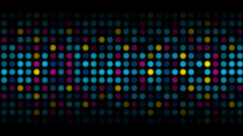 Colorful abstract shiny light circles video animation Animation