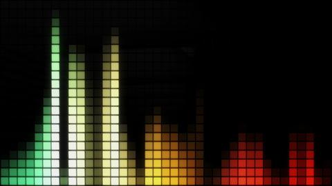 Neon Tiles Wall Light 4K - Equalizer Pack