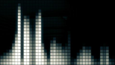Neon Tiles Wall Light 4K - Equalizer Pack 0