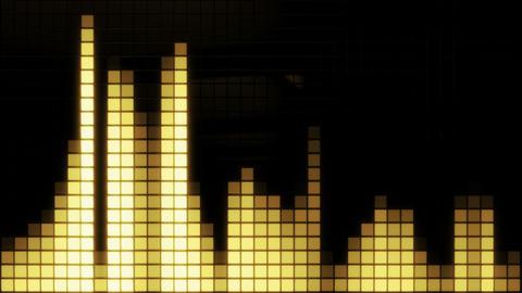 Neon Tiles Wall Light 4K - Equalizer Pack 1
