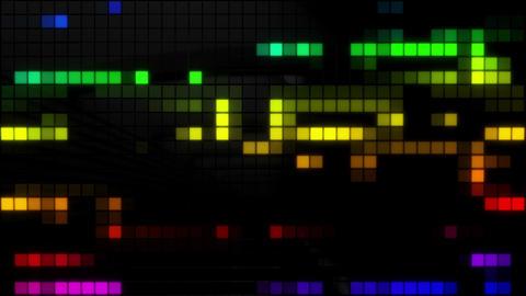 Neon Tiles Wall Light 4K - Random Patern Pack 2