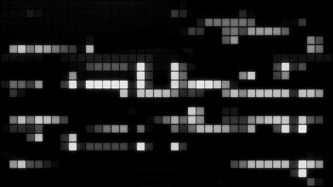 Neon Tiles Wall Light 4K - Random Patern1 - White Animación