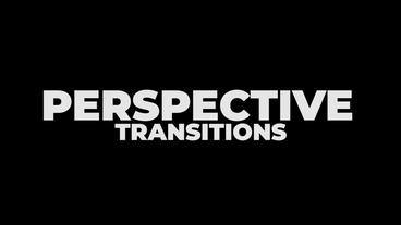Perspective Transitions Premiere Proテンプレート