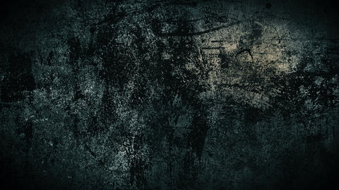 Horror grunge dark abstract background. Murky rock texture with glitch effect Animation