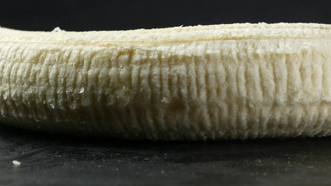 Banana skin extreme close up stock footage. Banana skin…, Live Action
