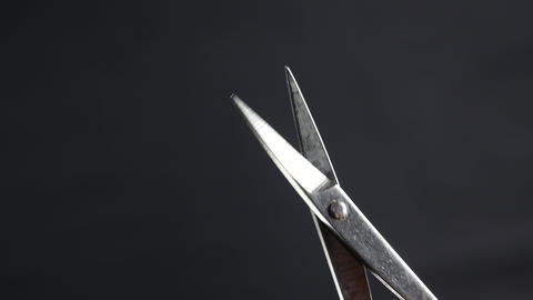 Manicure and pedicure scissors for cuticule or hangnail Footage
