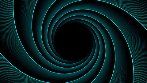Four spiral backgrounds Animation