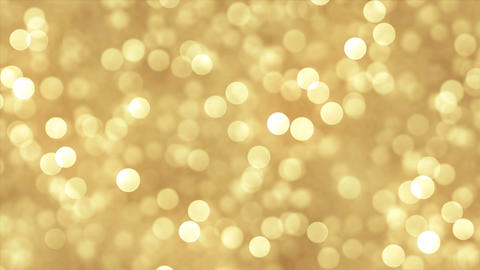 Abstrat gold background with glitter particles Animation