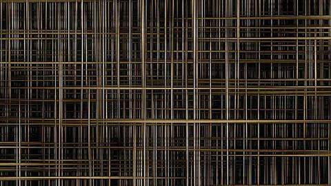 [alt video] Golden Mesh, Grid