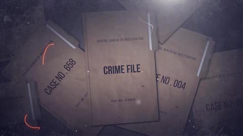 Crime File Premiere Pro Template