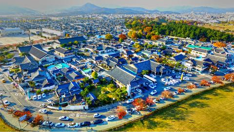Autumn of Gyochon Traditional Village at Gyeongju, South Korea, ASia フォト
