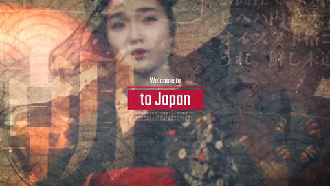 Welcome To Japan After Effects Template