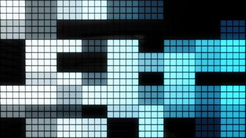 Neon Tiles Wall Light 4K - Random Square Pack