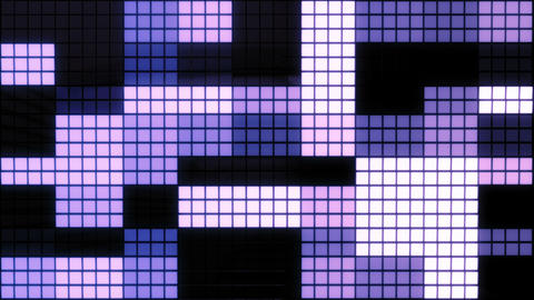 Neon Tiles Wall Light 4K - Random Square Pack 2