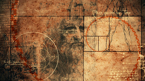 Code Da Vinci with Vitruvian Man Animation