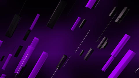 Purple Straight Lines Flying Diagonally Animation