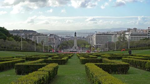 Parque Eduardo VII in Lisbon Archivo
