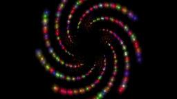 Spiral color art rotation turn Footage