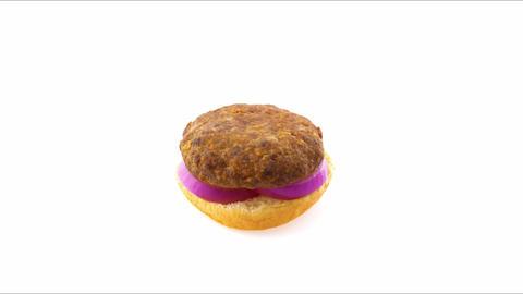 Making burger Footage