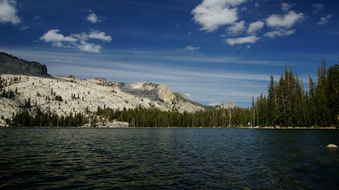 May lake, California, USA Stock Video Footage
