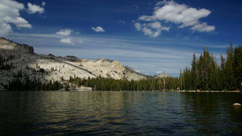 May lake, California, USA Footage