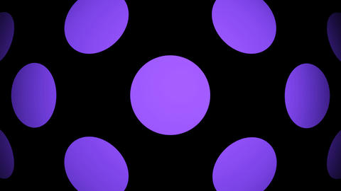 purple circle Animation