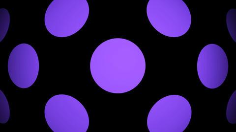 purple circle Animation