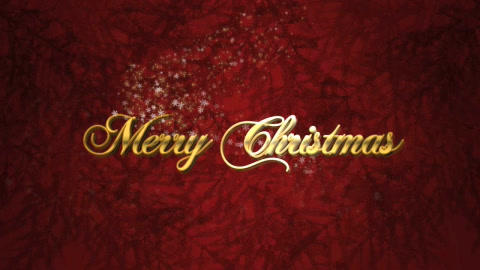 Christmas greeting intro After Effects Template