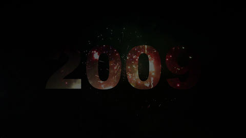 2000-2013 fireworks Stock Video Footage