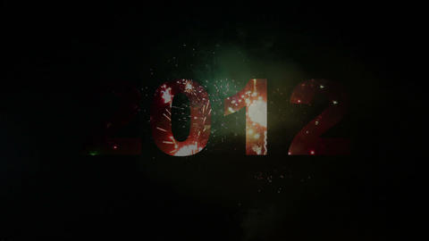 2000-2013 fireworks Animation