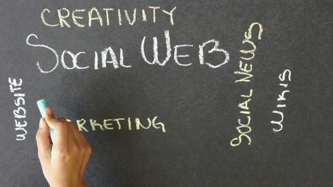 Social Web Time Lapse Footage