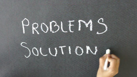 Problems and Solutions Footage