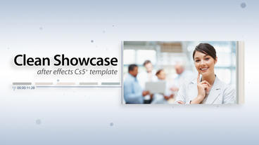 Clean Showcase - After Effects Template After Effects Template